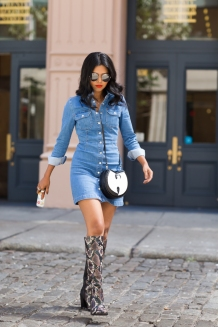 1-snakeskin-boots-with-denim-dress