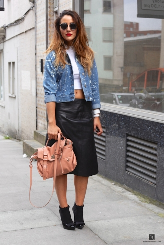 denim-jacket-street-style-leather-skirt-london-street-style-blogger